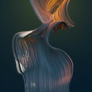Free Cinema 4D Project File, X-Particles Colourful Curl Mixer